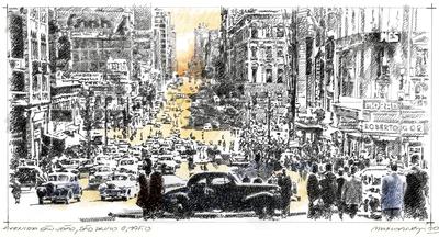 Avenida São João, São Paulo, c.1950
