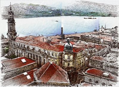 Bolsa do Café e Porto de Santos