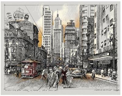 Avenida São João, São Paulo antiga