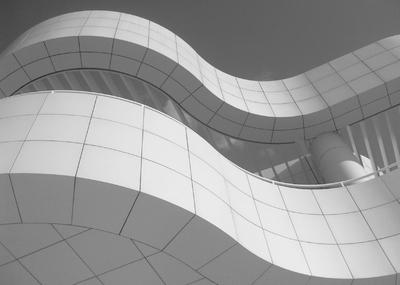 Getty Center Curvas - Arquitetura