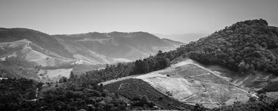 montanhas e vales de serra negra