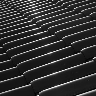 a luz e as telhas