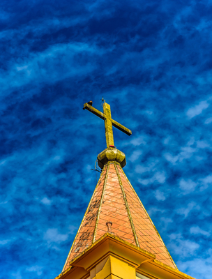 cruz na igreja de são sebastião