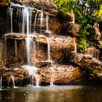 pequena cascata