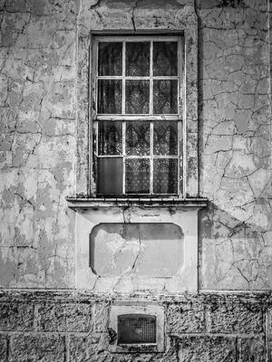 fachada com janela