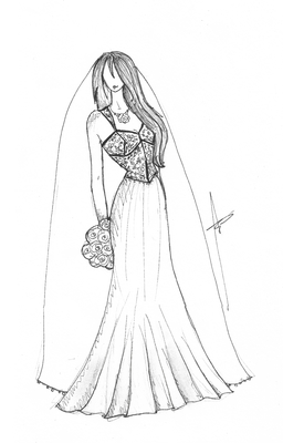 Bridal gowns over the decades: 1990