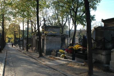 CEMITERIO  DO PERE LACHAISE EM PARIS
