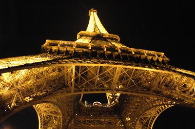 TORRE EIFFEL A NOITE EM PARIS