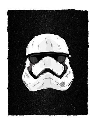 Stormtrooper Starry Night - Edição Limitada
