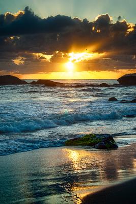 Nascer do sol no paraíso