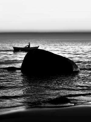Solitude ao mar com a natureza