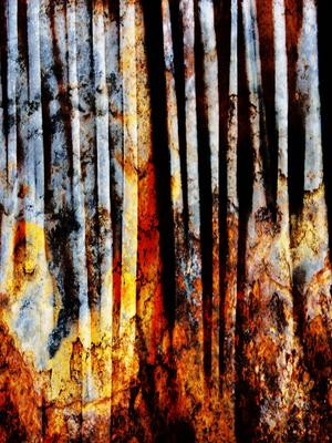 Abstrato Ferrugem  Artística Artista Gloria Rimes
