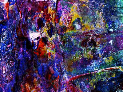 Abstrato ESTRELAR Artista Gloria Rimes