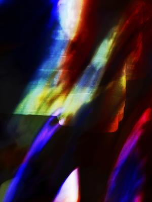 Abstrato Pensamento Elevado Artista Gloria Rimes