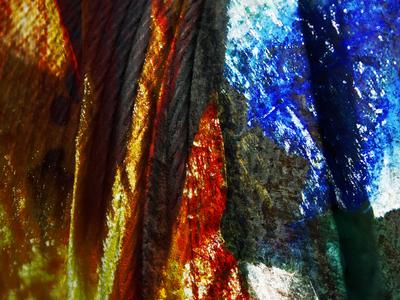 Abstrato Conceito Industrial Artista Gloria Rimes