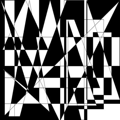 Geométrico Tons de Classe N°13 Artista Gloria Rimes