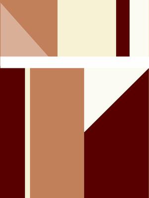 Geométrico Contemporâneo N°2 Artista Gloria Rimes