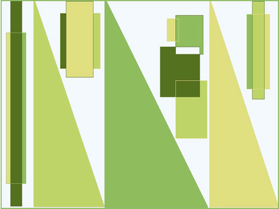 Geométrico Contemporâneo N°10 Artista Gloria Rimes