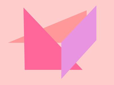 Geométrico Obra de  Arte N°4 Artista Gloria Rimes