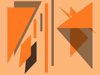 Geométrico Obra de  Arte N°9 Artista Gloria Rimes