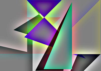 Geométrico Um Novo Horizonte N°14 Artista Gloria Rimes