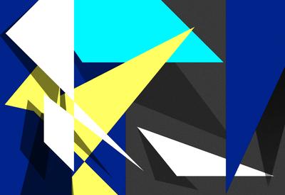 Geométrico Um Novo Horizonte 20 Artista Gloria Rimes