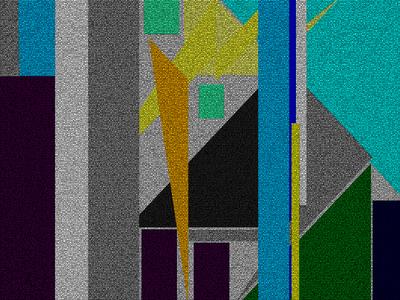Geométrico Universo das Sensações N°2 Artista Gloria Rimes