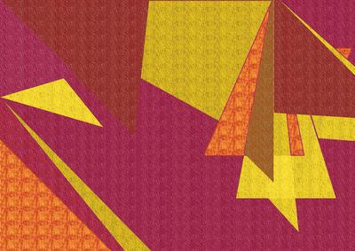 Arte Geométrica N°3 da Artista Gloria Rimes