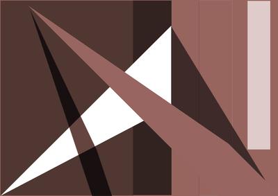 Arte Geométrica N°cinco da Artista Gloria Rimes.