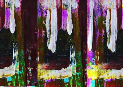 Abstrato Fases Artista Gloria Rimes