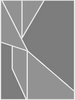 Geométrico Cinza  Artista Gloria Rimes