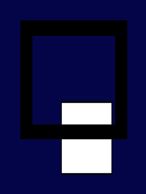 Geométrico Tons de Classe N°6 Artista Gloria Rimes
