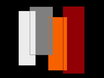Geométrico Tons de Classe Terceiro Artista Gloria Rimes