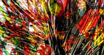 Abstrato Indígena Artista Gloria Rimes