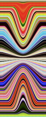 Obra Geométrica Colorida Artista Gloria Rimes