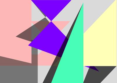 Geométrico Um Novo Horizonte 14 Artista Gloria Rimes