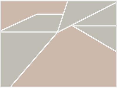 Geométrico Contemporâneo N°13 Artista Gloria Rimes