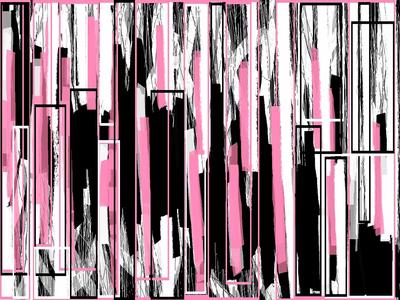 Abstrato Tom de Rosa Artista Gloria Rimes