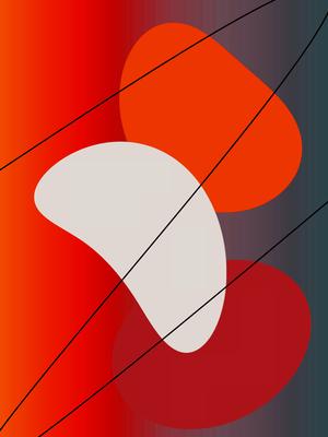 Geométrico O Encontro das Cores Artista Gloria Rimes