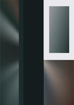 Geométrico METALIZADO Artista Gloria Rimes.