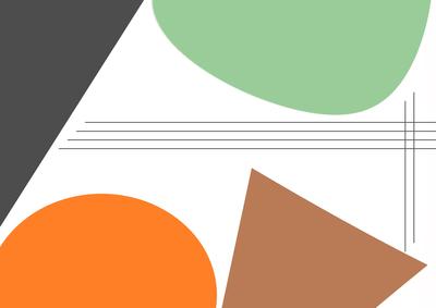 Geométrico Cores e Linhas Artista Gloria Rimes