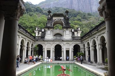 Rio Cinza - Parque Lage