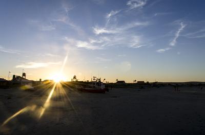 Por do Sol - Cabo Polonio