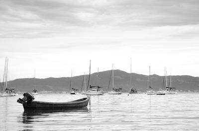 O barco de pesca