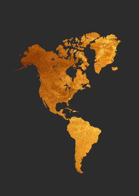 Mapa da America