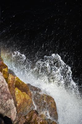 Rocha e a água