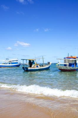 Barcos da Barra do Forte