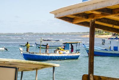 Pescadores na Barra do Forte - BA