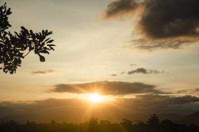 Por do sol - Santa Catarina