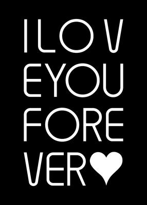 TIPOGRAFIA I LOVE YOU FOREVER - 150x210 - 24-04-2020 -- 01B3